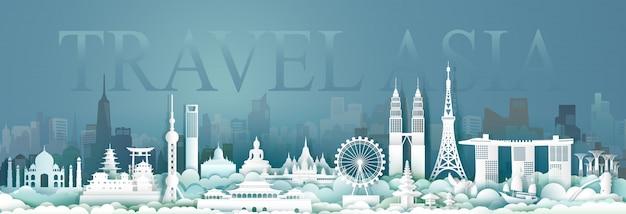 Viagens cultura arquitetura asean na cidade capital.