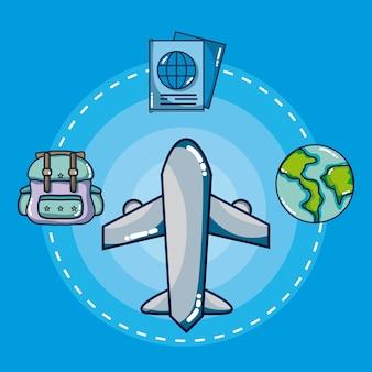 Viagens e férias ao redor do mundo