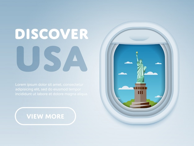Viajando de avião, marcos na janela,