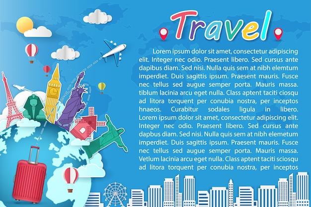 Viajar ao redor do mundo.