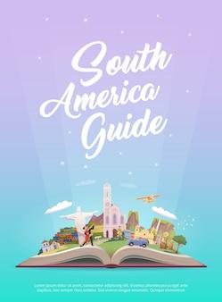 Viajar para a américa do sul.