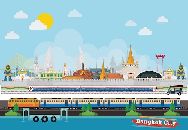 Viajar para lugares bonitos da tailândia