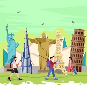 Viajar para o mundo