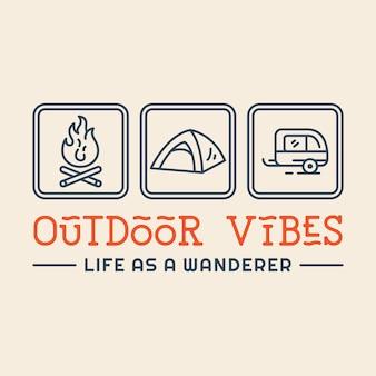 Vibrações ao ar livre