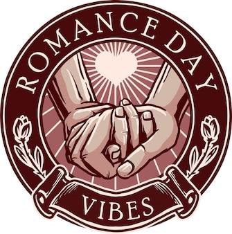 Vibrações romance de dia dos namorados