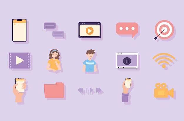 Vídeo app multimídia