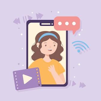 Vídeo no smartphone
