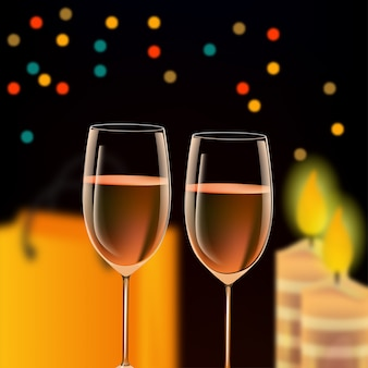 Vidro celebração