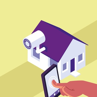 Vigilância residencial inteligente