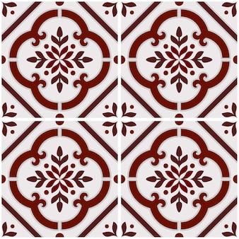 Vintage azulejos padrão