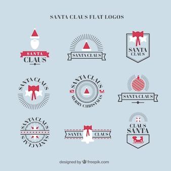 Vintage logos papai noel