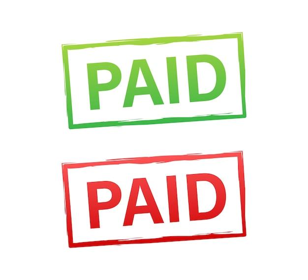 Vintage pago, ótimo design para qualquer finalidade. ilustração em vetor das ações.