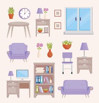 Vinte e três decoração de casa