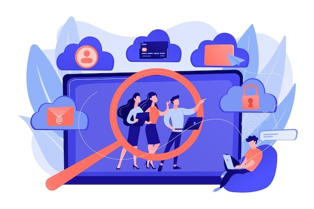 Violação de segurança online, ofensa à vida privada imoral