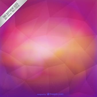 Violet e fúcsia fundo poligonal