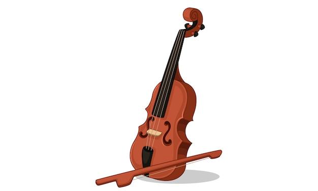 Violino indiano de instrumento musical