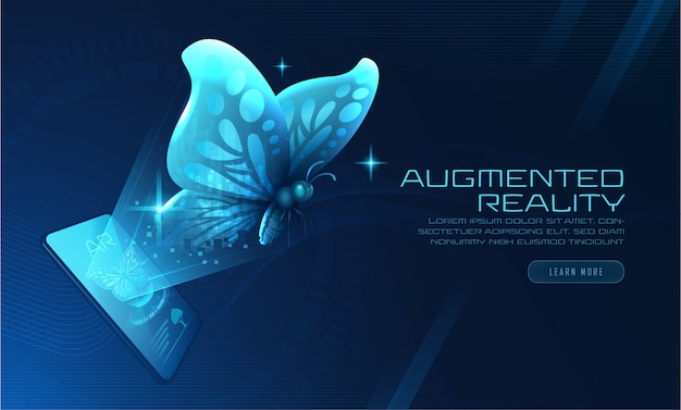 Virtual butterfly