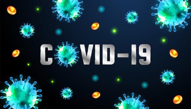 Vírus corona 2020. doença do vírus wuhan. surto de coronavírus e fundo de influenza de coronavírus. coronavírus 2019-ncov. conceito de risco de saúde médico pandêmico. perfeito para o gráfico de informações