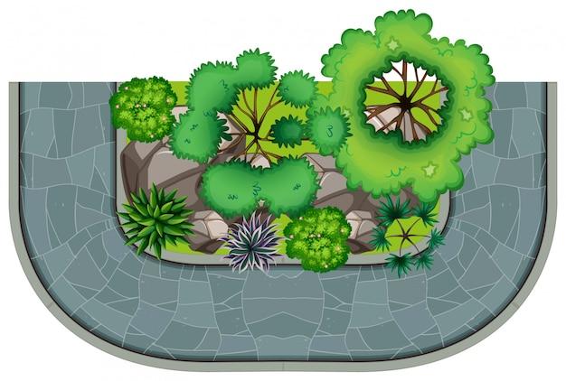 Visão geral da natureza e caminho