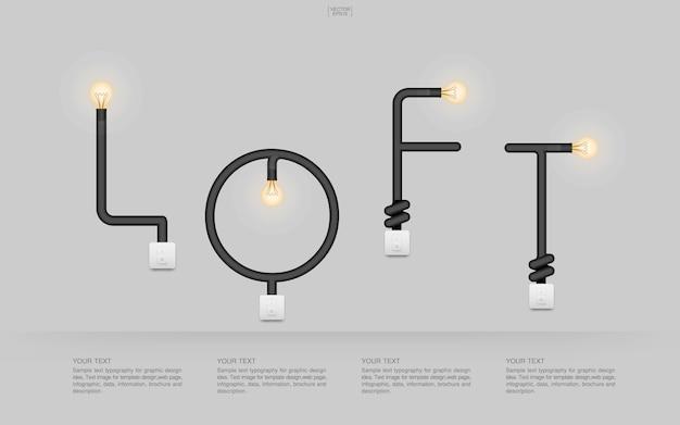 Visão símbolo decoração luz lâmpada eletricidade