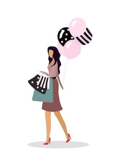 Visitando apartamento boutique de vestidos