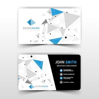 Visite design de cartão