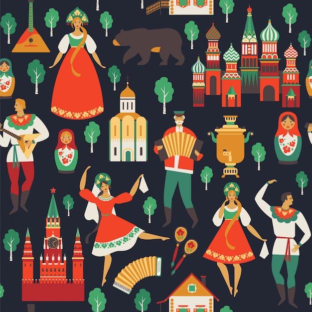 Visões russas e arte popular