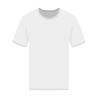 Vista frontal do tshirt
