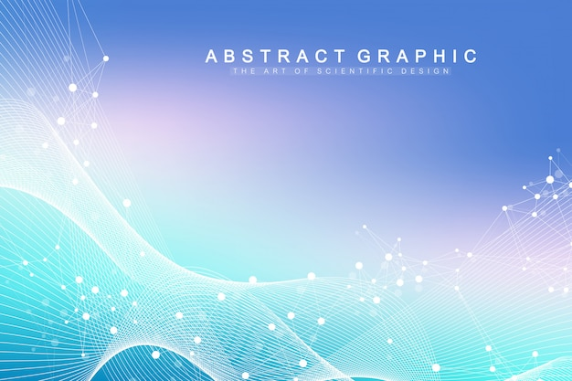 Visualização de grandes dados genômicos. hélice de dna, fita de dna, teste de dna. molécula ou átomo, neurônios.