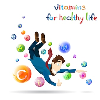Vitaminas para uma vida saudável