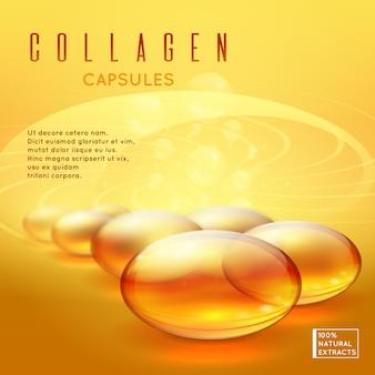 Vitaminas pílula de ouro