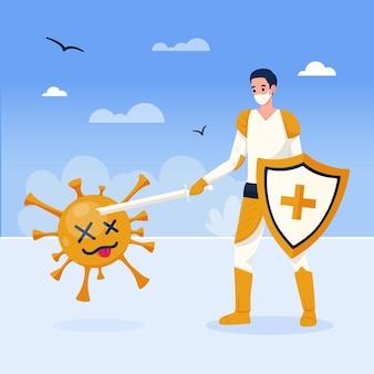 Vitória sobre o coronavírus