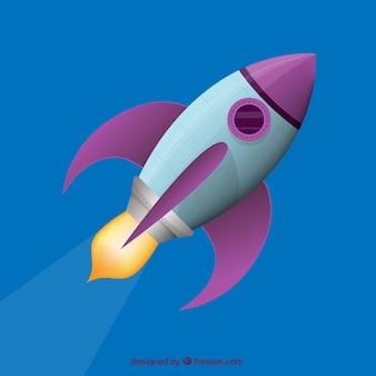 Voando foguete
