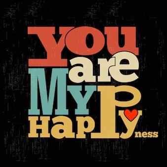Você é minha felicidade