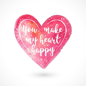 Você faz meu coração feliz