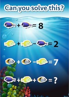 Você pode resolver esta planilha matemática?