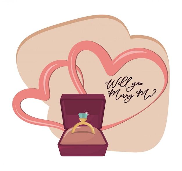 Você quer casar comigo cartoon