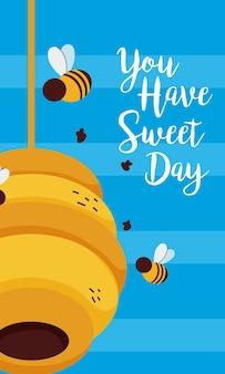Você tem um cartão de dia doce