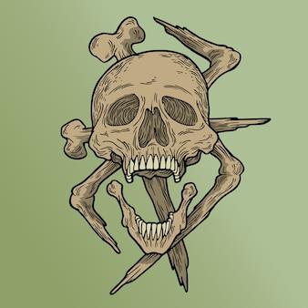Vodoo skull