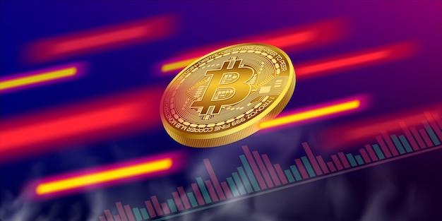 Volatilidade do mercado de ações de criptomoedas
