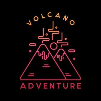 Volcano adventure