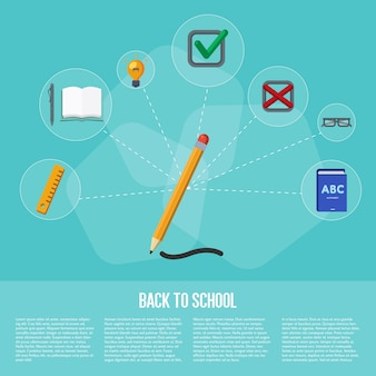 Volta ao conceito de infografia de escola