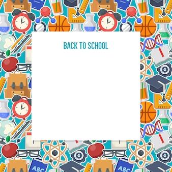 Volta ao conceito de plano de fundo da escola