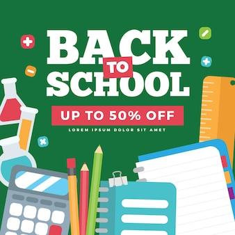 Volta ao conceito de venda de escola