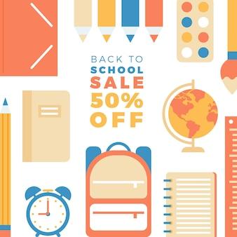 Volta ao conceito de vendas da escola