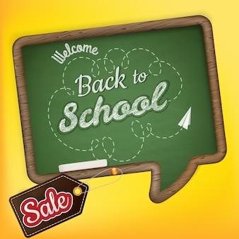 Volta às aulas venda.