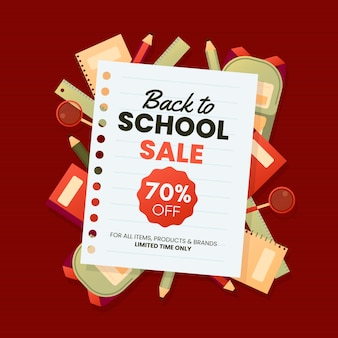 Volta para o banner de venda de escola