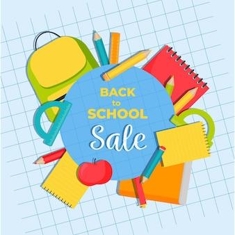 Volta para o banner de vendas da escola