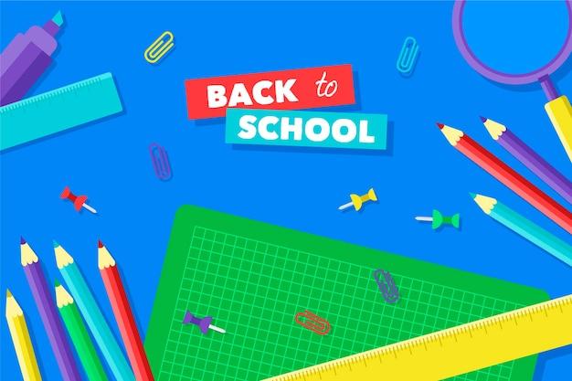 Volta para o fundo da escola
