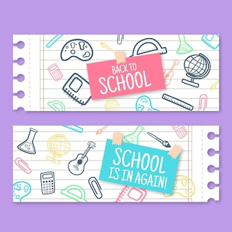 Volta para o modelo de banner de escola